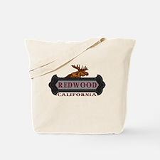 Redwood Fleur de Moose Tote Bag