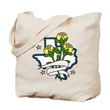 Texas Yellow Roses Tote Bag