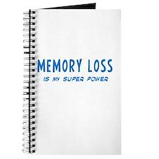 Super Power: Memory Loss Journal