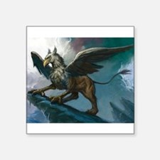 "griffin wear Square Sticker 3"" x 3"""