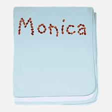 Monica Coffee Beans baby blanket