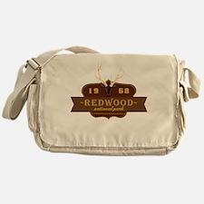 Redwood National Park Crest Messenger Bag