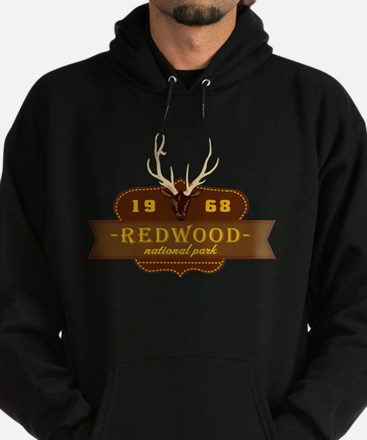 Redwood National Park Crest Hoodie (dark)