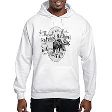 Redwood Vintage Moose Hoodie