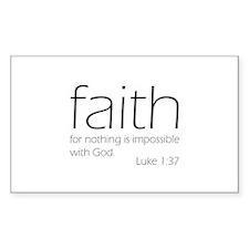 faith Decal