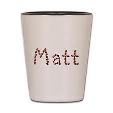 Matt Coffee Beans Shot Glass
