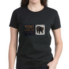 Yosemite Black Bear Badge Tee