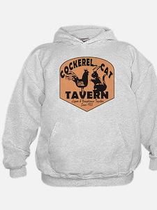 Cockerel N Cat Tavern Hoodie