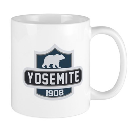 Yosemite Blue Nature Crest Mug