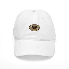 Yosemite Brown Bear Badge Baseball Cap