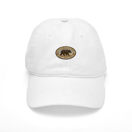 Yosemite Brown Bear Badge Cap