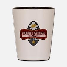 Yosemite Natural Marquis Shot Glass