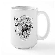 Yosemite Vintage Moose Mug