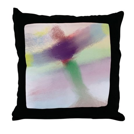 Healing Guardian Angel Light and Love Throw Pillow