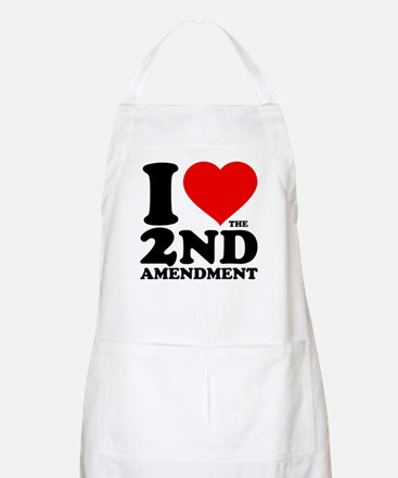 I Heart the 2nd Amendment Apron