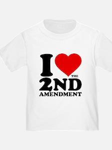 I Heart the 2nd Amendment Infant/T