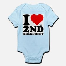 I Heart the 2nd Amendment Onesie