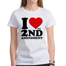 I Heart the 2nd Amendment Tee