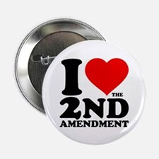"I Heart the 2nd Amendment 2.25"" Button (100 pack)"