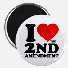 "I Heart the 2nd Amendment 2.25"" Magnet (10 pack)"
