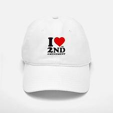 I Heart the 2nd Amendment Baseball Baseball Cap