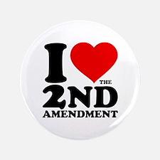 """I Heart the 2nd Amendment 3.5"""" Button"""