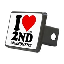 I Heart the 2nd Amendment Hitch Cover