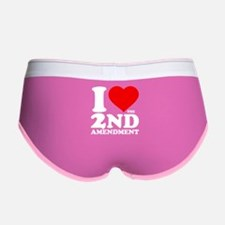 I Heart the 2nd Amendment Women's Boy Brief