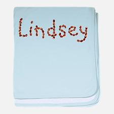 Lindsey Coffee Beans baby blanket