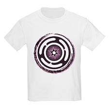 Purple Hecate's Wheel T-Shirt