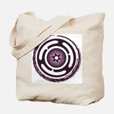 Purple Hecate's Wheel Tote Bag