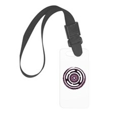 Purple Hecate's Wheel Luggage Tag
