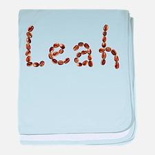 Leah Coffee Beans baby blanket