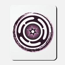 Purple Hecate's Wheel Mousepad