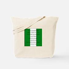 Nigerian Pledge Tote Bag