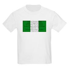 Nigerian Pledge Kids T-Shirt