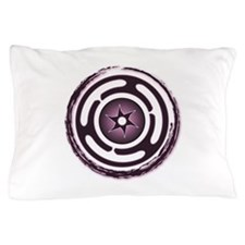 Purple Hecate's Wheel Pillow Case