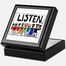 Listen Keepsake Box
