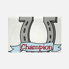 Champion Rectangle Magnet