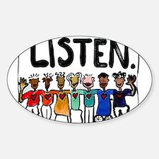 Listen Decal