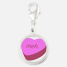 Meh_Heart.png Silver Round Charm