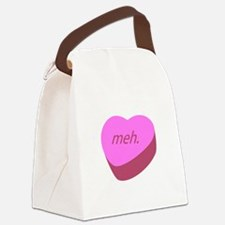 Meh_Heart.png Canvas Lunch Bag