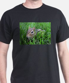 Chipmunk in the grass T-Shirt