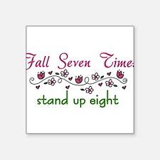 """Fall Seven Times Square Sticker 3"""" x 3"""""""