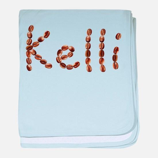Kelli Coffee Beans baby blanket