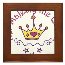 Her Majesty Framed Tile