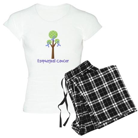 Esophageal Cancer Tree Women's Light Pajamas