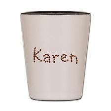 Karen Coffee Beans Shot Glass