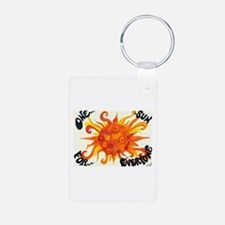 One Sun for Everyone Keychains