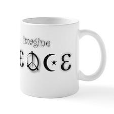 3-imagine PEACE 2 Mugs